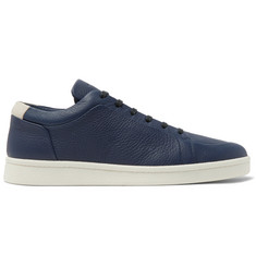 Balenciaga Urban Low Textured-Leather Sneakers