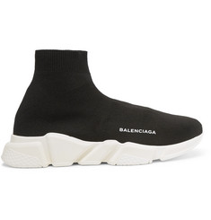 Balenciaga Speed Sock Stretch-Knit Sneakers