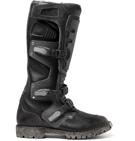 Balenciaga Leathers Leather Motorcycle Boots