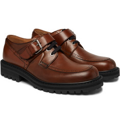Dries Van Noten - Buckled Leather Derby Shoes