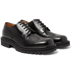 Dries Van Noten - Polished-Leather Wingtip Brogues