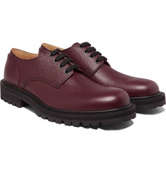 Dries Van Noten - Pebble-Grain Leather  Derby Shoes