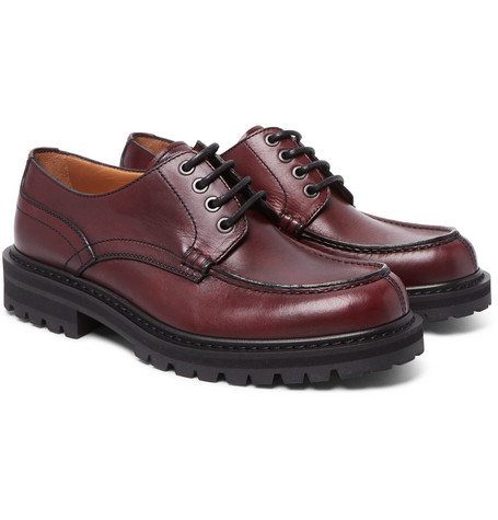 Dries Van Noten Leather Derby Shoes popular cheap online cheap pick a best KnPZx7hTTt