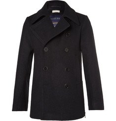 Dries Van Noten Rodrique Wool-Felt Peacoat