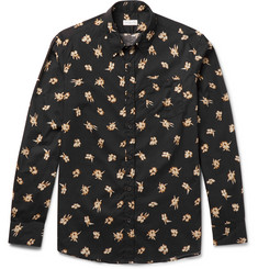 Dries Van Noten Floral-Print Cotton-Poplin Shirt