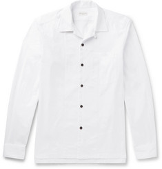 Dries Van Noten Camp-Collar Cotton-Twill Shirt