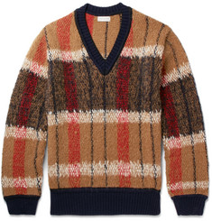 Dries Van Noten Patterned Knitted Sweater