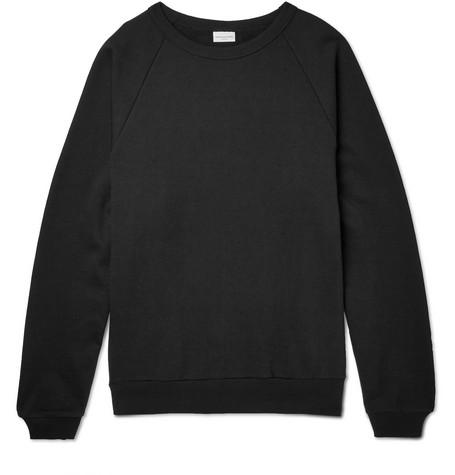 Dries Van Noten Hemingway Oversized Loopback Cotton-jersey Sweatshirt