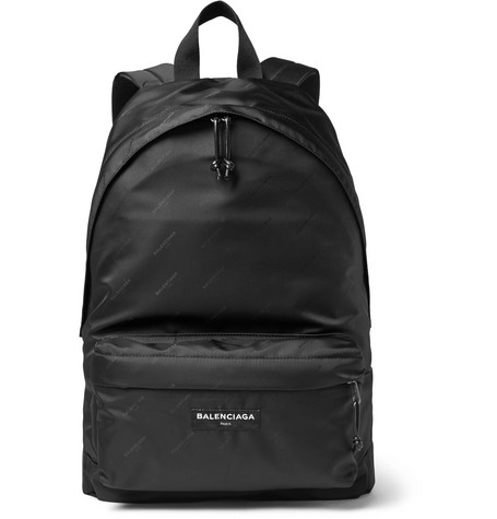 Explorer Jacquard Backpack - Black