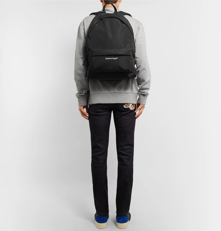 Explorer Printed Ripstop Backpack - Black