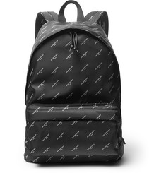 Balenciaga Explorer Printed Nylon Backpack