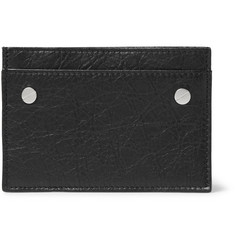 Balenciaga - Arena Creased-Leather Cardholder
