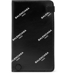 Balenciaga - Printed Leather Cardholder