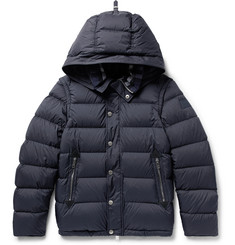 Burberry Quilted Shell Hooded Down Jacket