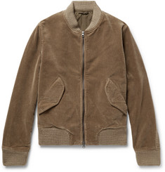 Aspesi Cotton-Corduroy Bomber Jacket
