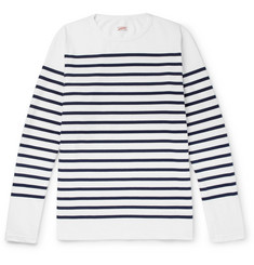 Arpenteur - Striped Cotton-Jersey T-Shirt