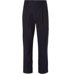 Arpenteur Tapered Wool and Cotton-Blend Trousers