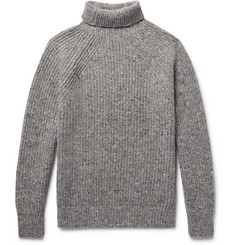 Inis Meáin - Boatbuilder Slim-Fit Merino Wool-Blend Rollneck Sweater