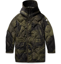 Moncler - Gaillon Camouflage-Print Quilted Shell Hooded Down Parka