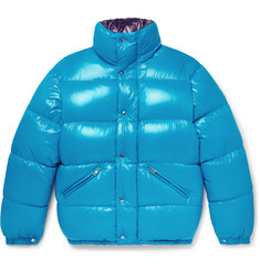 Moncler Dejan Quilted Shell Hooded Down Jacket