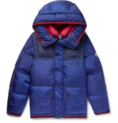 Moncler Empire K2 Panelled Quilted Shell Down Jacket