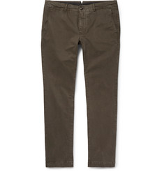 Moncler Slim-Fit Stretch-Cotton Twill Chinos