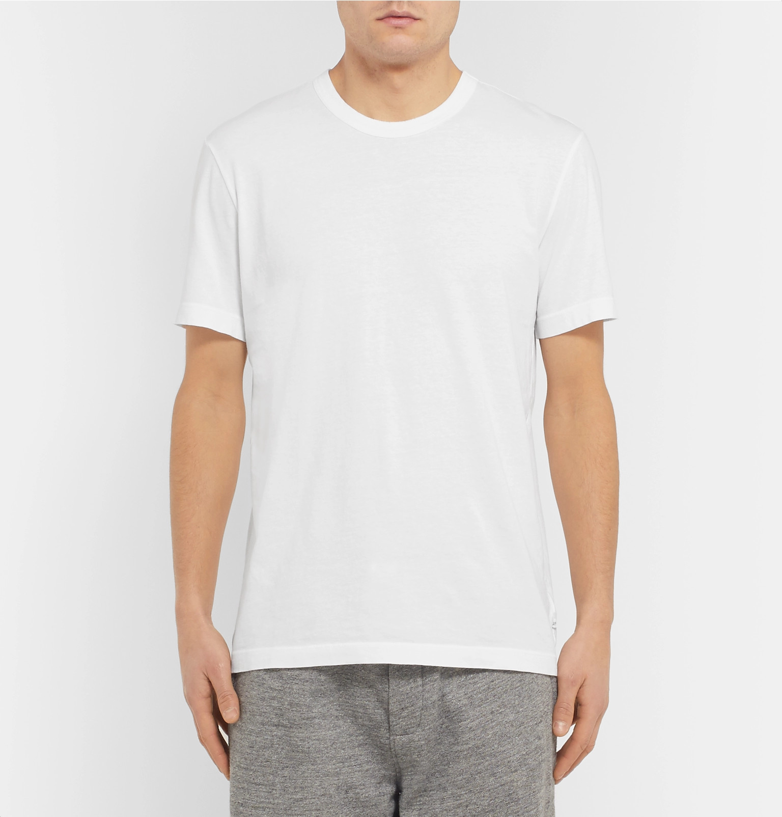 f02f0242bb7 James Perse - Combed Cotton-Jersey T-Shirt