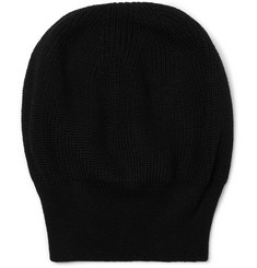 Dries Van Noten - Ribbed Merino Wool-Blend Beanie