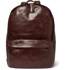 Dries Van Noten Leather Backpack