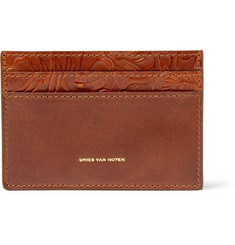 Dries Van Noten Embossed Leather Cardholder
