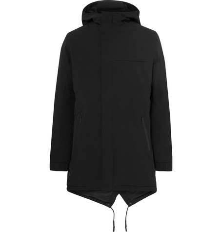 Winter Fisher Shell Parka - Black