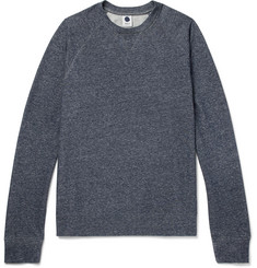 NN07 Canyon Mélange Cotton-Jersey Sweatshirt