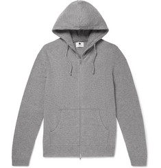 NN07 - Boiled Wool-Blend Zip-Up Hoodie