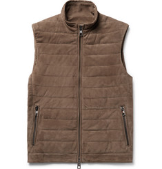 Michael Kors - Quilted Suede Gilet