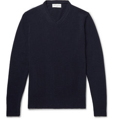 Officine Generale Cashmere and Merino Wool-Blend Sweater