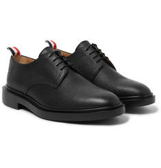 Thom Browne Pebble-Grain Leather Derby Shoes