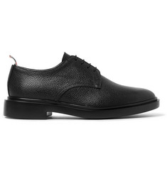 Thom Browne - Pebble-Grain Leather Derby Shoes