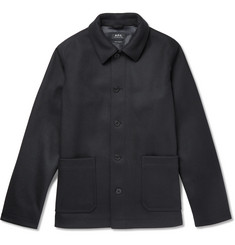 A.P.C. Auray Felted Wool-Blend Jacket