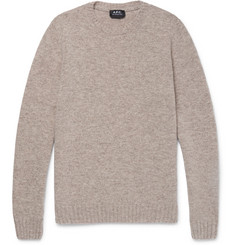 A.P.C. Mélange Wool Sweater