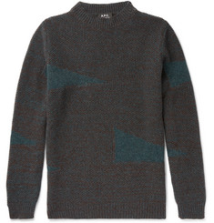 A.P.C. Ernen Mélange Wool Sweater