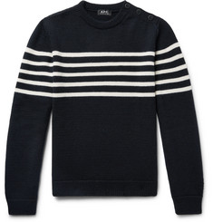 A.P.C. Mayol Striped Wool Sweater