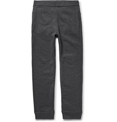 A.P.C. Slim-Fit Fleece-Back Cotton-Jersey Sweatpants