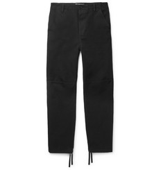 Balenciaga Panelled Cotton-Twill Trousers