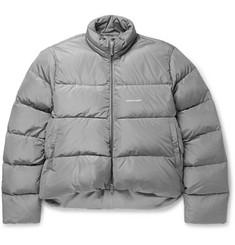 Balenciaga Quilted Shell Down Jacket