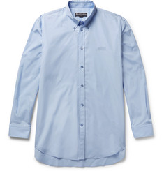 Balenciaga Embroidered Cotton-Poplin Shirt