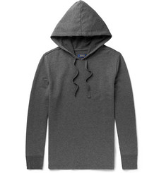 Polo Ralph Lauren Mélange Brushed Cotton-Blend Jersey Hoodie