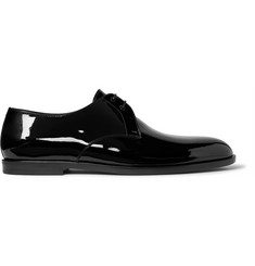Saint Laurent Smoking Patent-Leather Derby Shoes