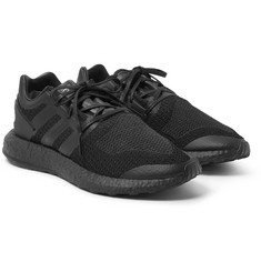 Y-3 - Pure Boost Rubber-Trimmed Primeknit Sneakers