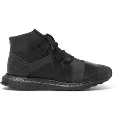 Y-3 Kozoko Rubber-Trimmed Mesh High-Top Sneakers