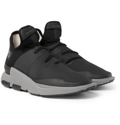 Y-3 - Noci Rubberised-Neoprene Sneakers
